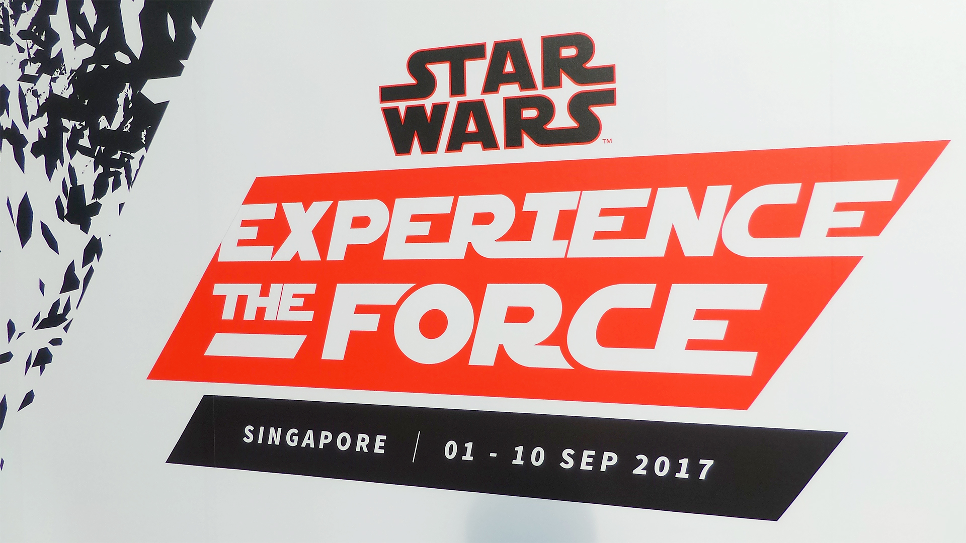 star wars experience the force signapore - logo