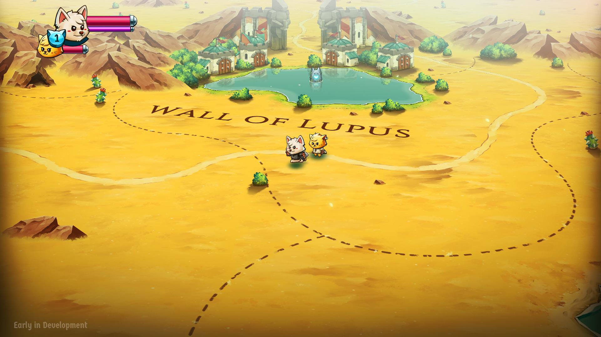 Cat Quest II: The Lupus Empire announce 04