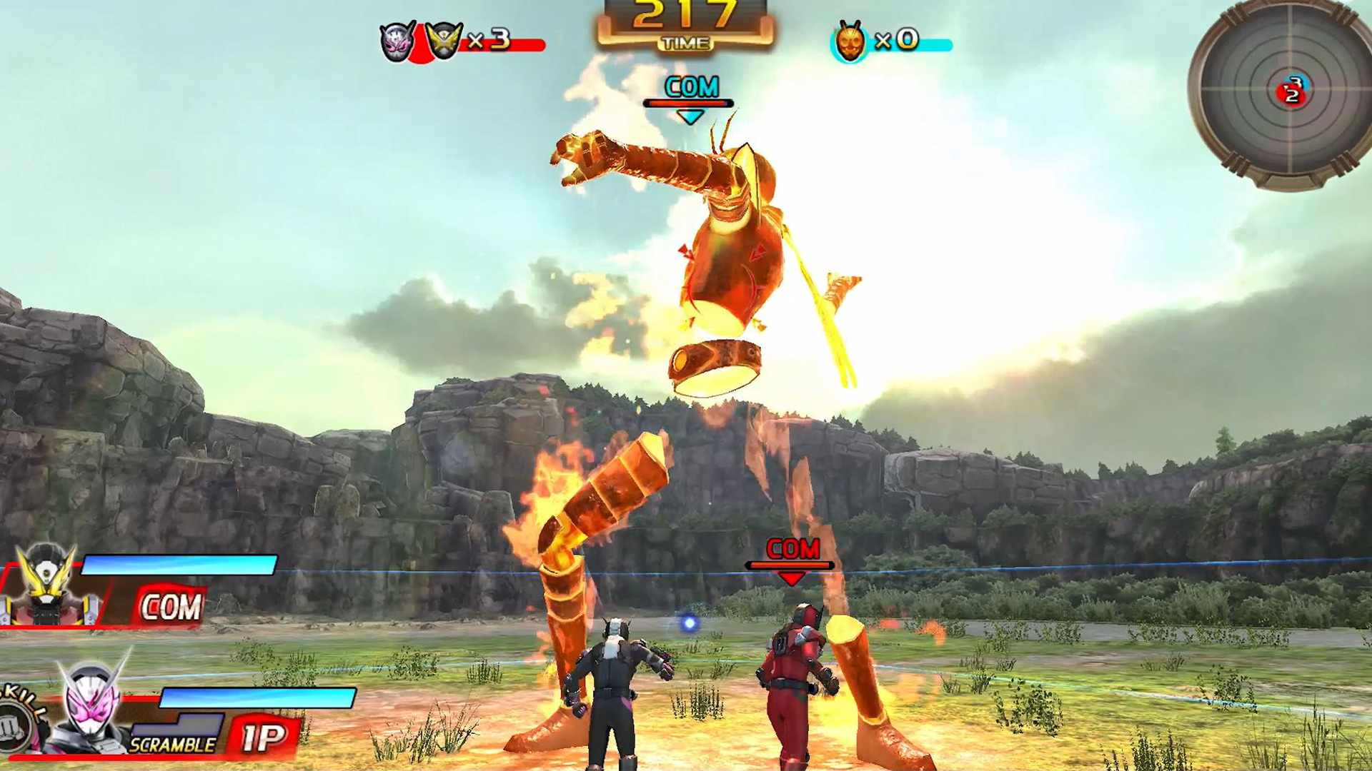Kamen Rider Climax Scramble - Trailer 01