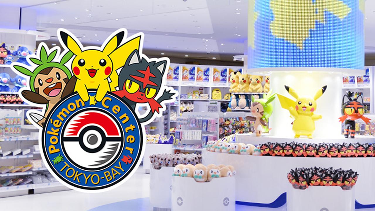 Pokemon Center Tokyo Bay