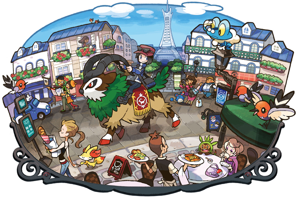 Robots Gone Bad - Pokemon X Y - Lumiose City