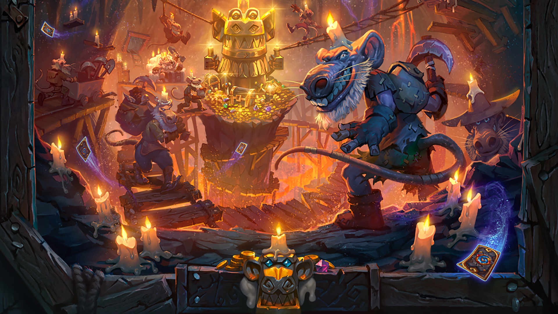 hearthstone kobolds & catacombs key art crop