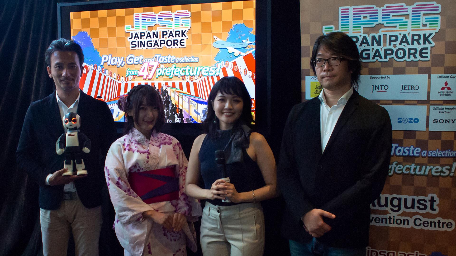 japan park singapore 2018 - press conference 01