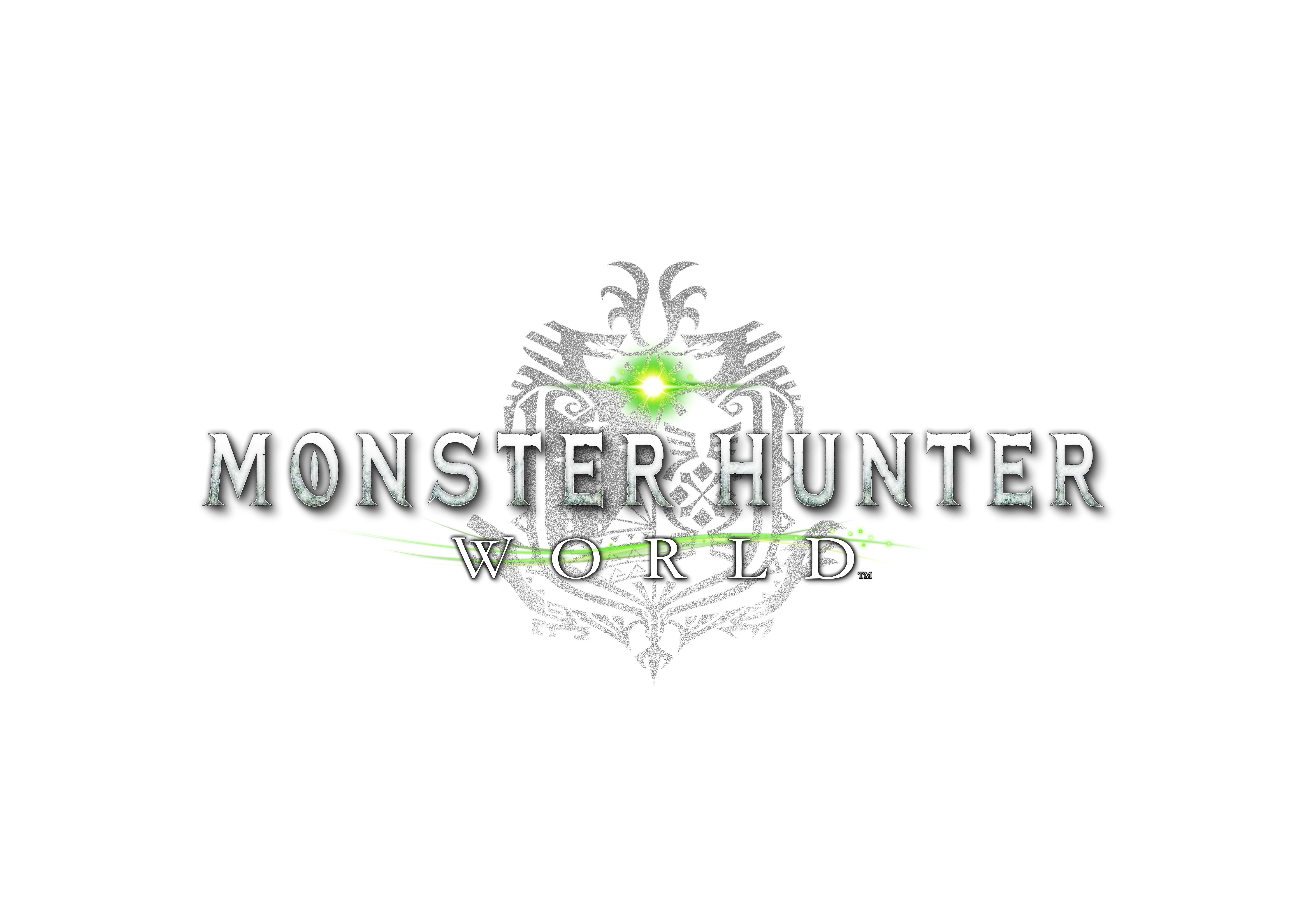 Monster Hunter World Logo >> The Wait Is Over Monster Hunter World Comes To Steam August 10th