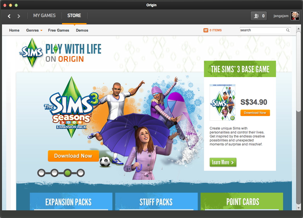 EA Launches Origin For Mac - GameAxis