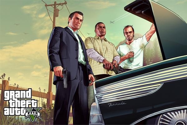 Grand Theft Auto V trunk