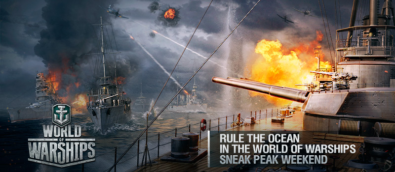 World of Warships: Sneak Peek Test Event & Codes Giveaway