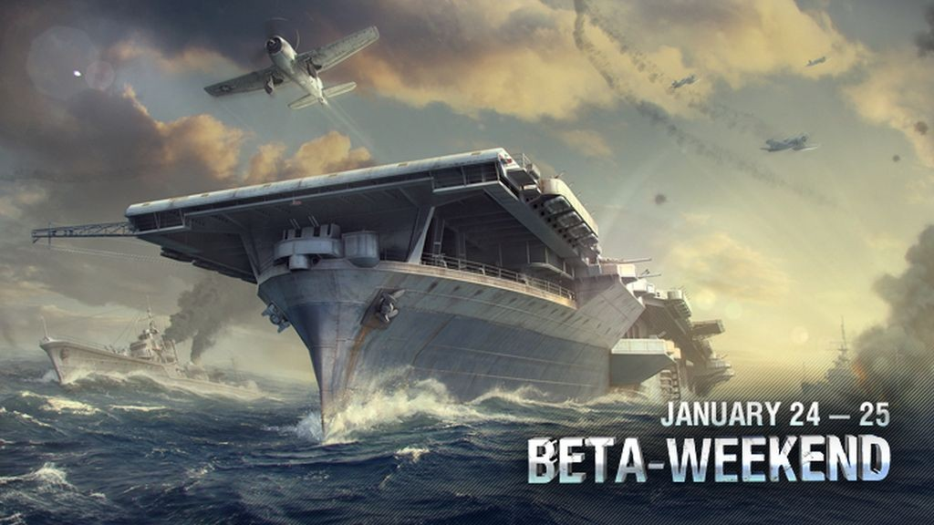 World of Warships: Get Your Beta Weekend Codes! - GameAxis