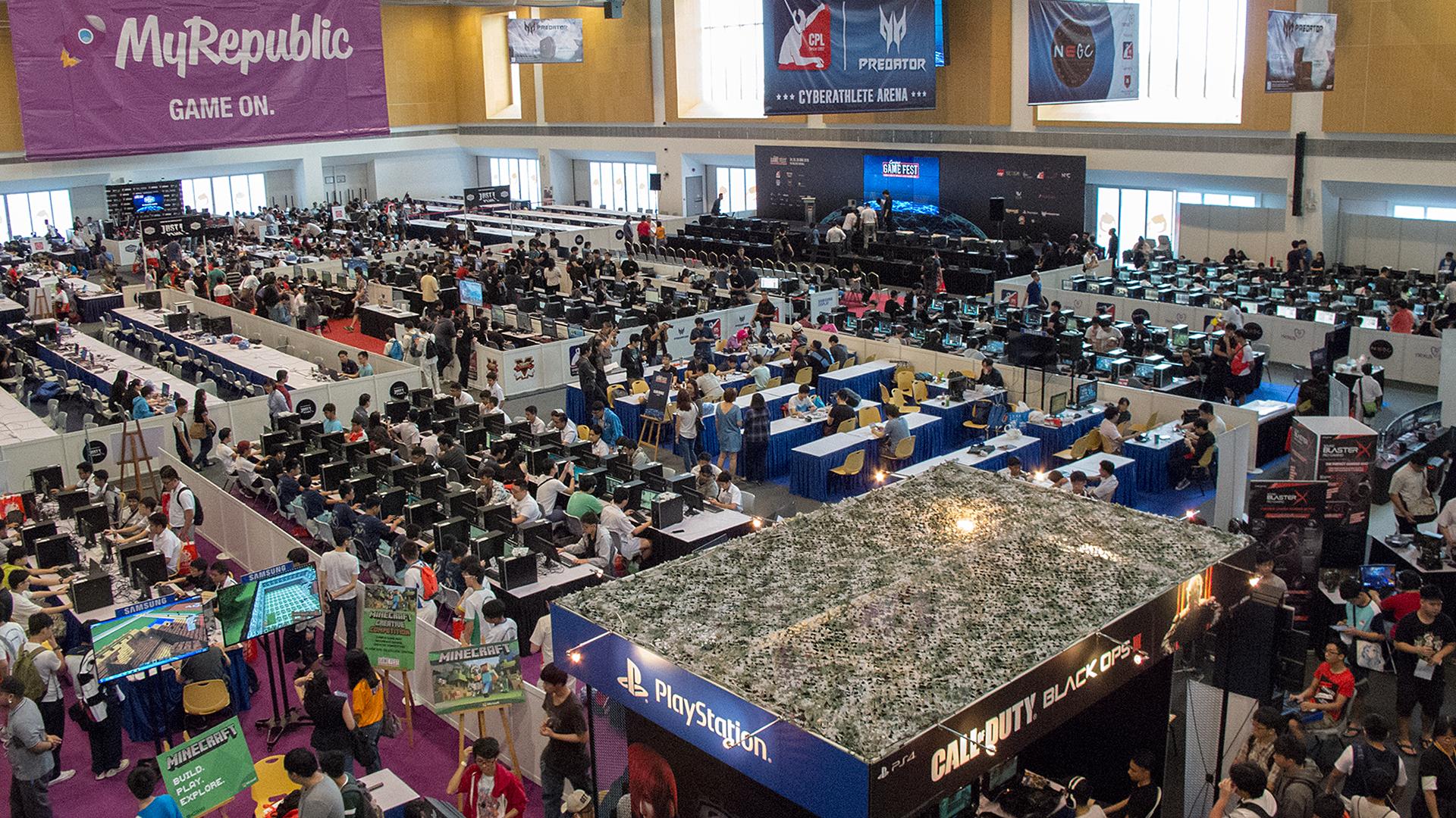 Campus Game Fest 2016 - Floor