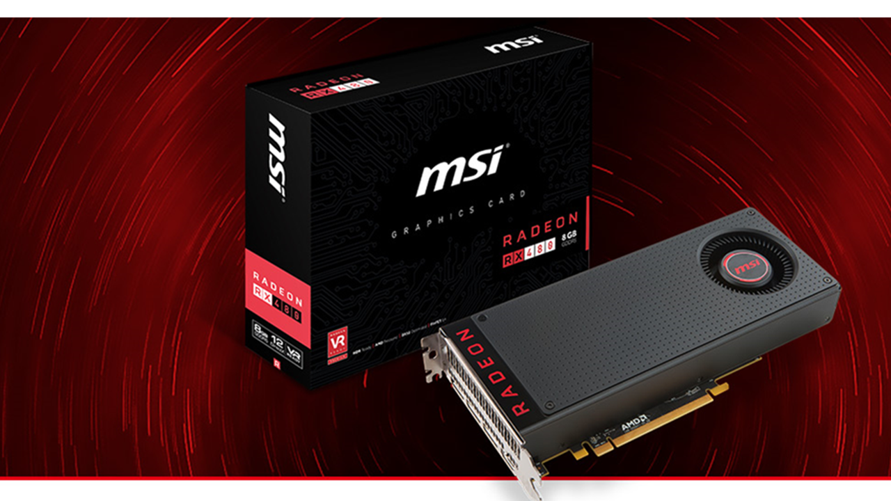 MSI welcomes the Radeon RX480 to their line up - GameAxis