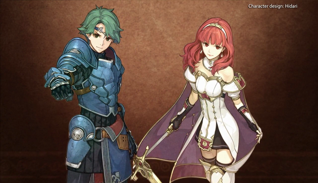 fire emblem direct alm celica