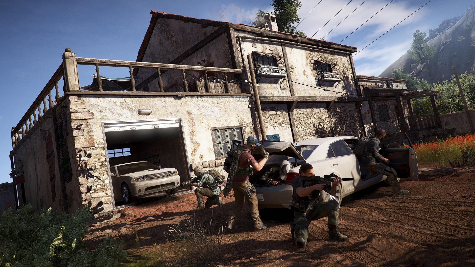 ghost recon wildlands closed beta car