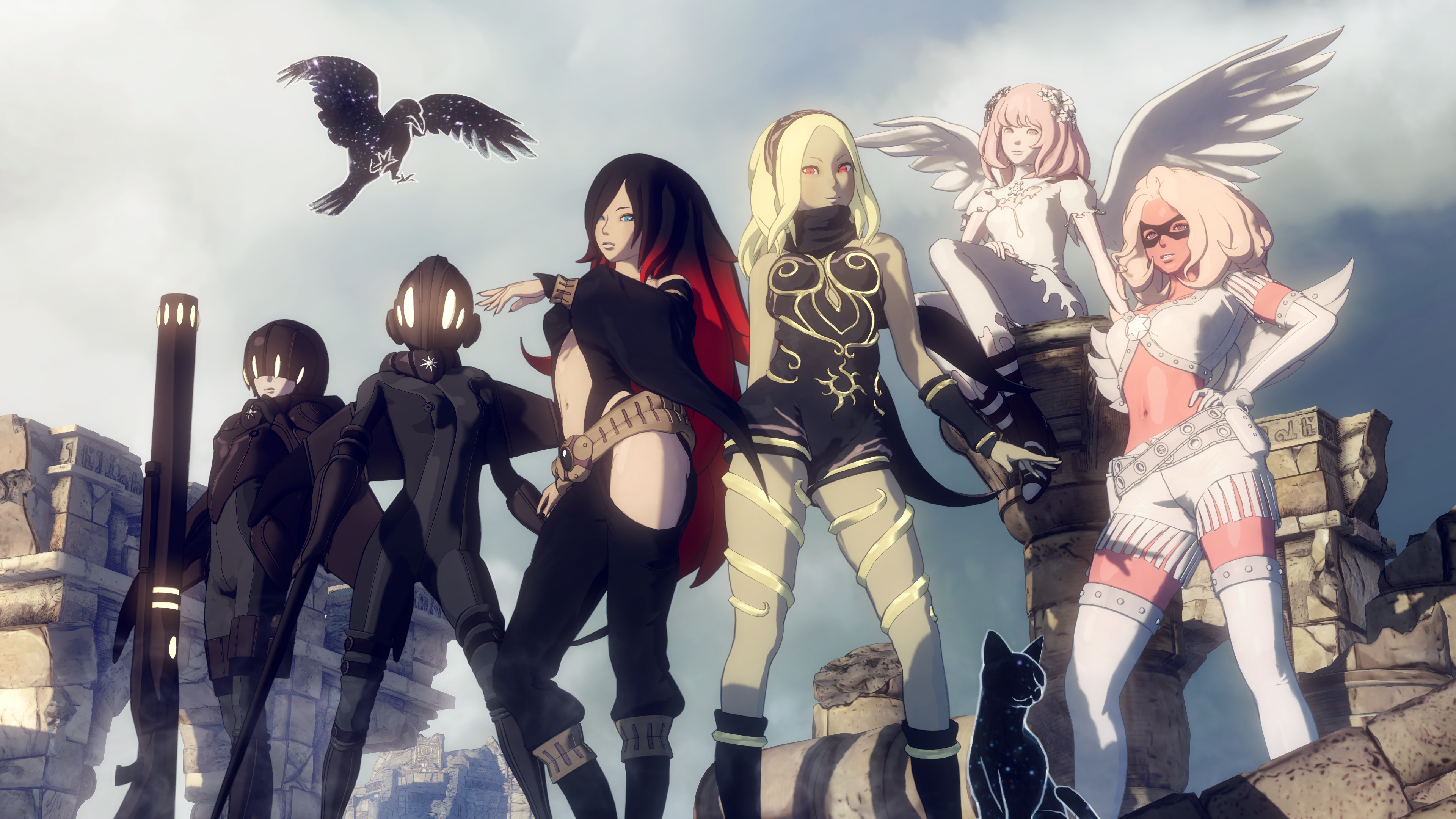 Gravity Rush 2 review characters