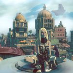 Gravity Rush 2 review rooftop