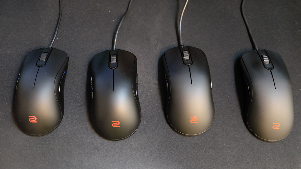 BenQ Zowie FK and ZA series review: Less QQ, more pew pew