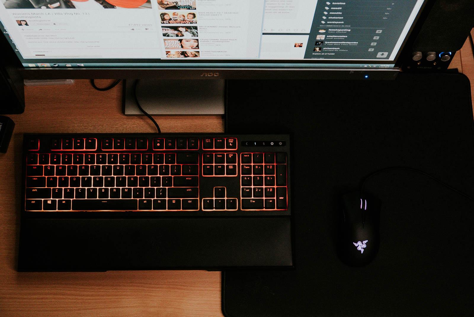 Razer Gigantus Mouse Mat Black Edition