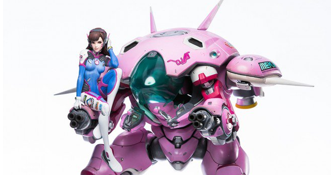 This Overwatch D Va Statue is bad news for your credit card