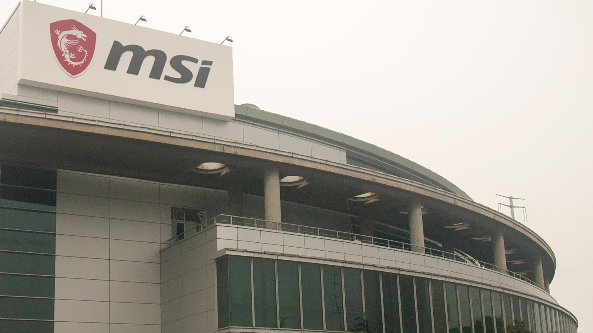 MSI Kunshan Factory Tour 1