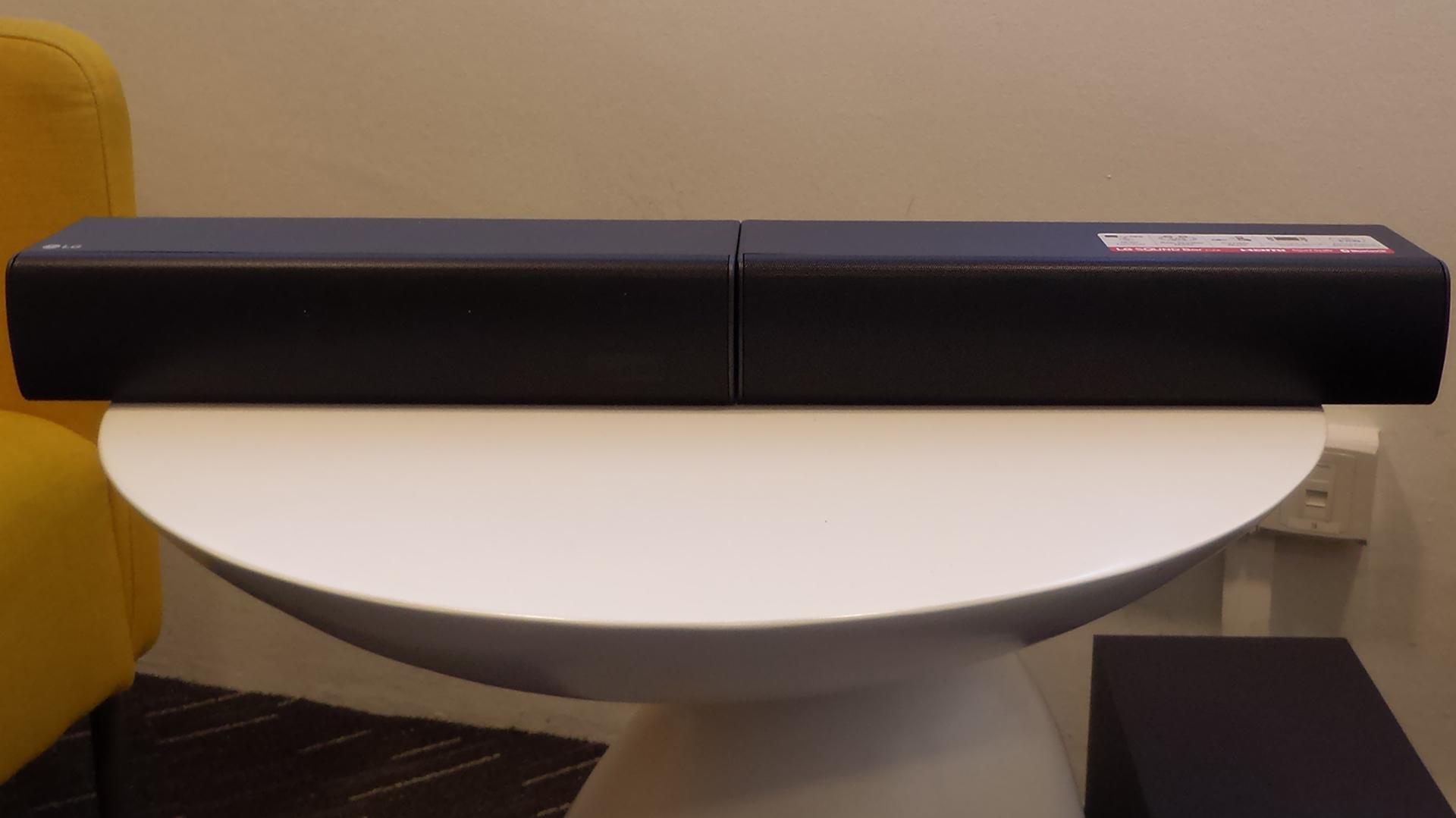 LG SJ7 Sound Bar Flex - sound bar configuration