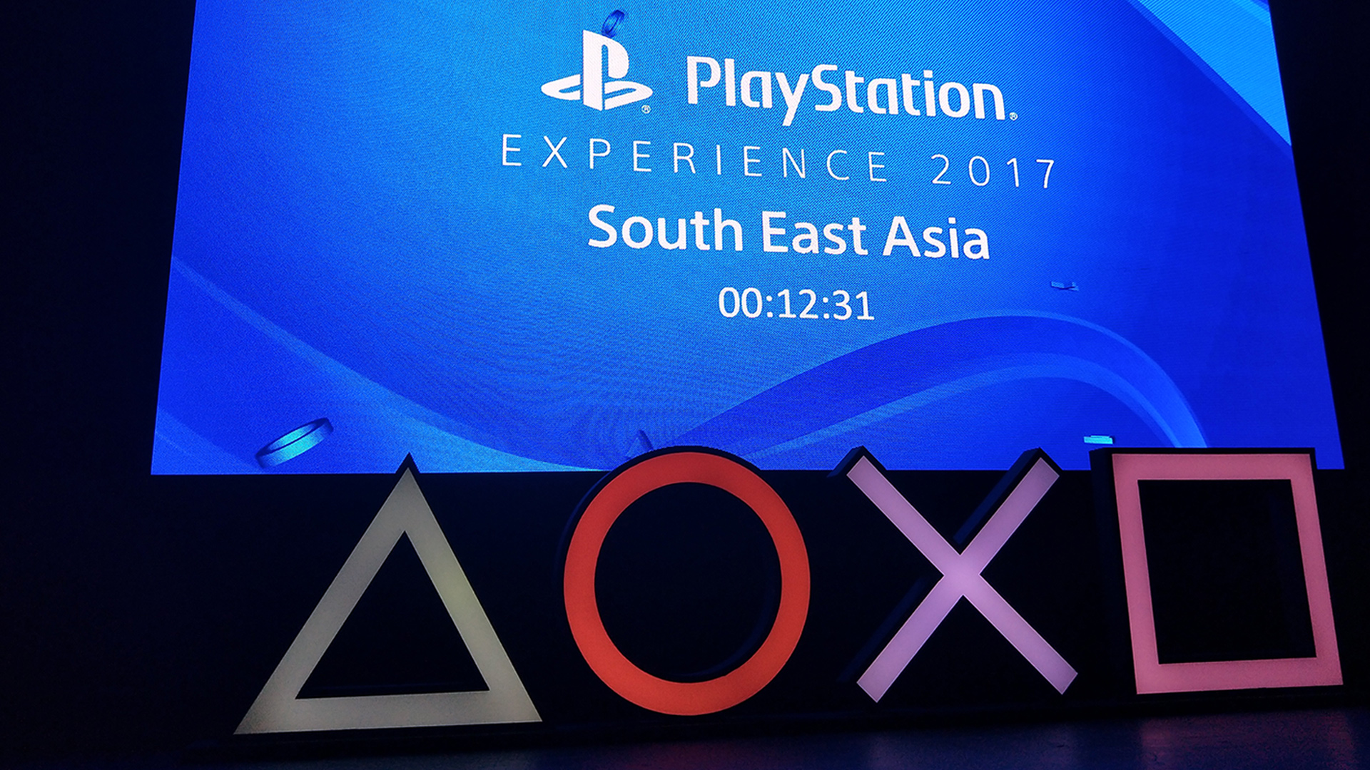 PlayStation Experience 2017 SEA - screen
