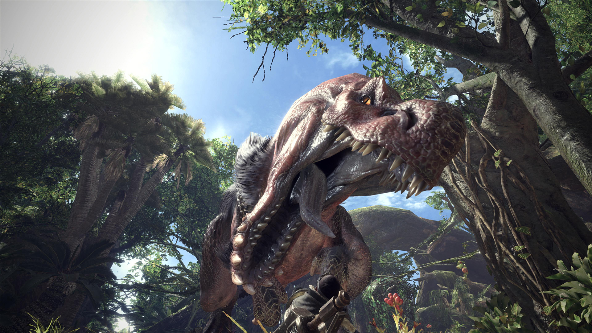 Monster Hunter: World - Anjanath