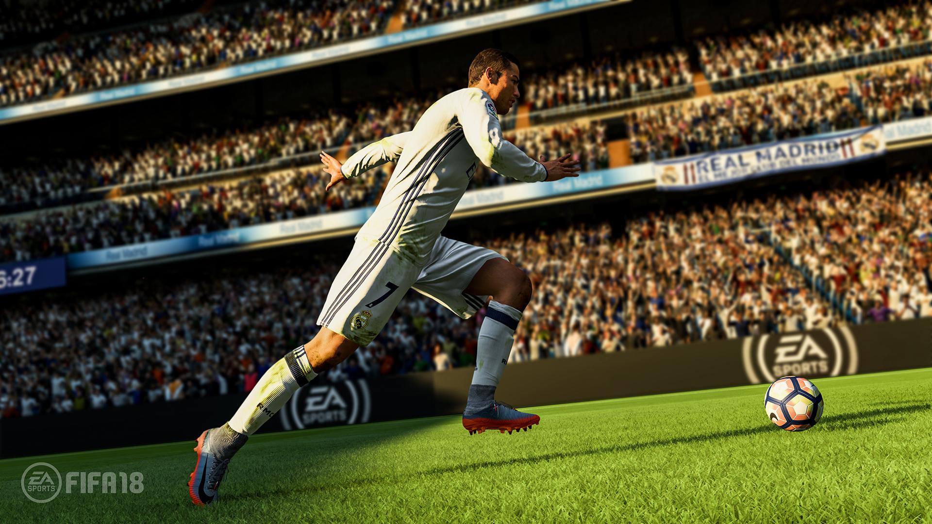 fifa 18 gameplay ronaldo
