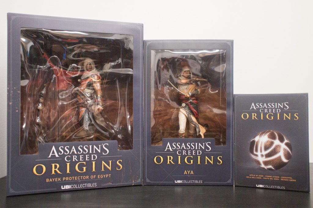 assassin's creed: origins collectibles box-front