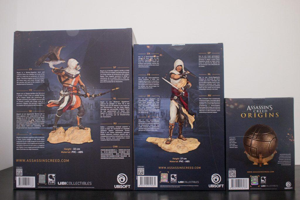 assassin's creed: origins collectibles box-rear