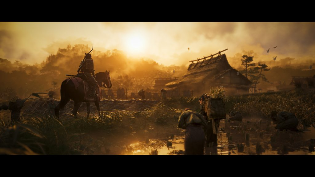 ghost of tsushima announce 1