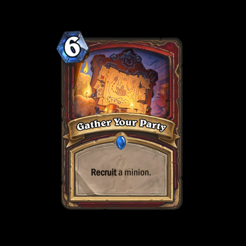 hearthstone: kobolds & catacombs gather your party
