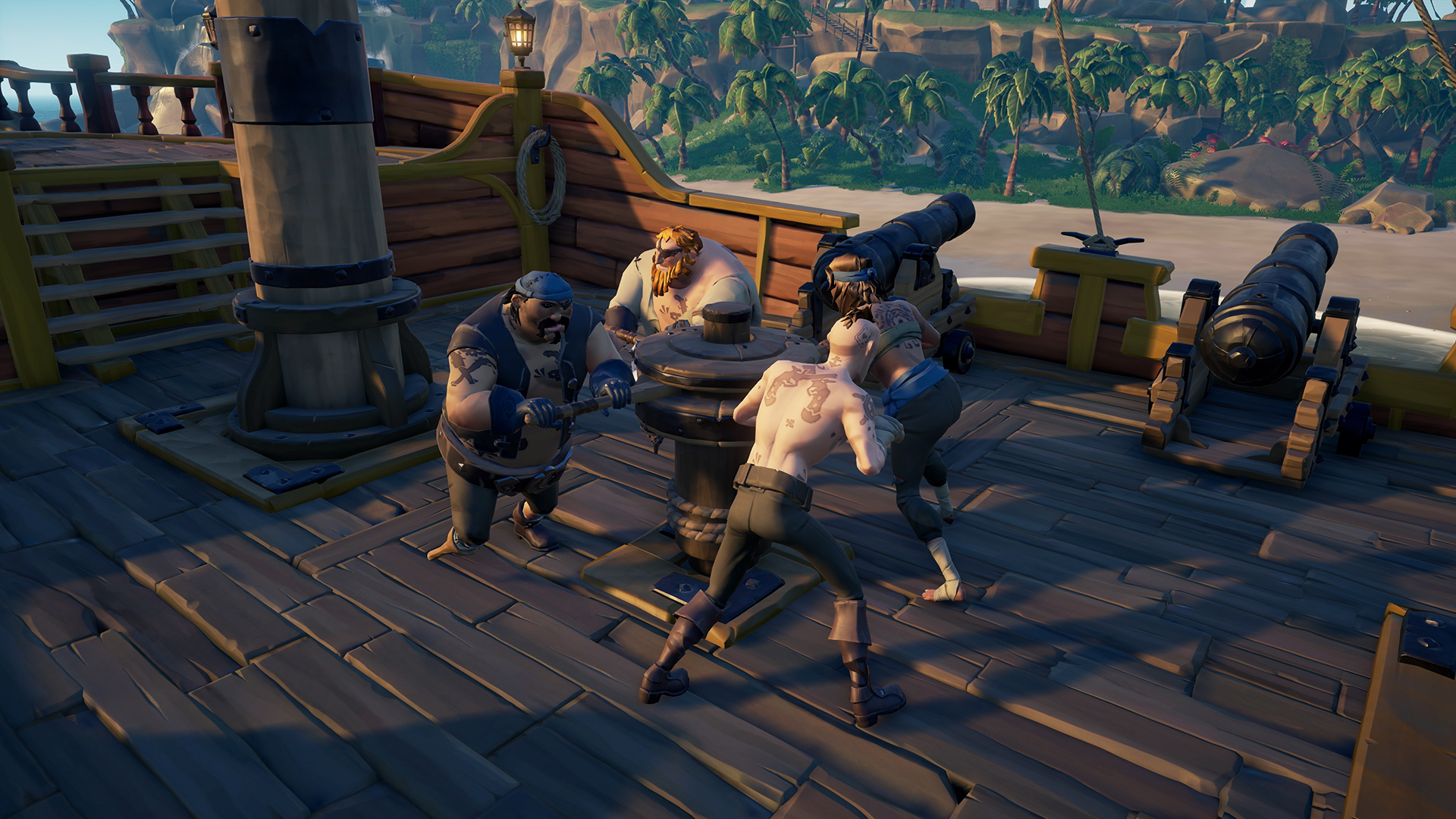 sea of thieves co-operation