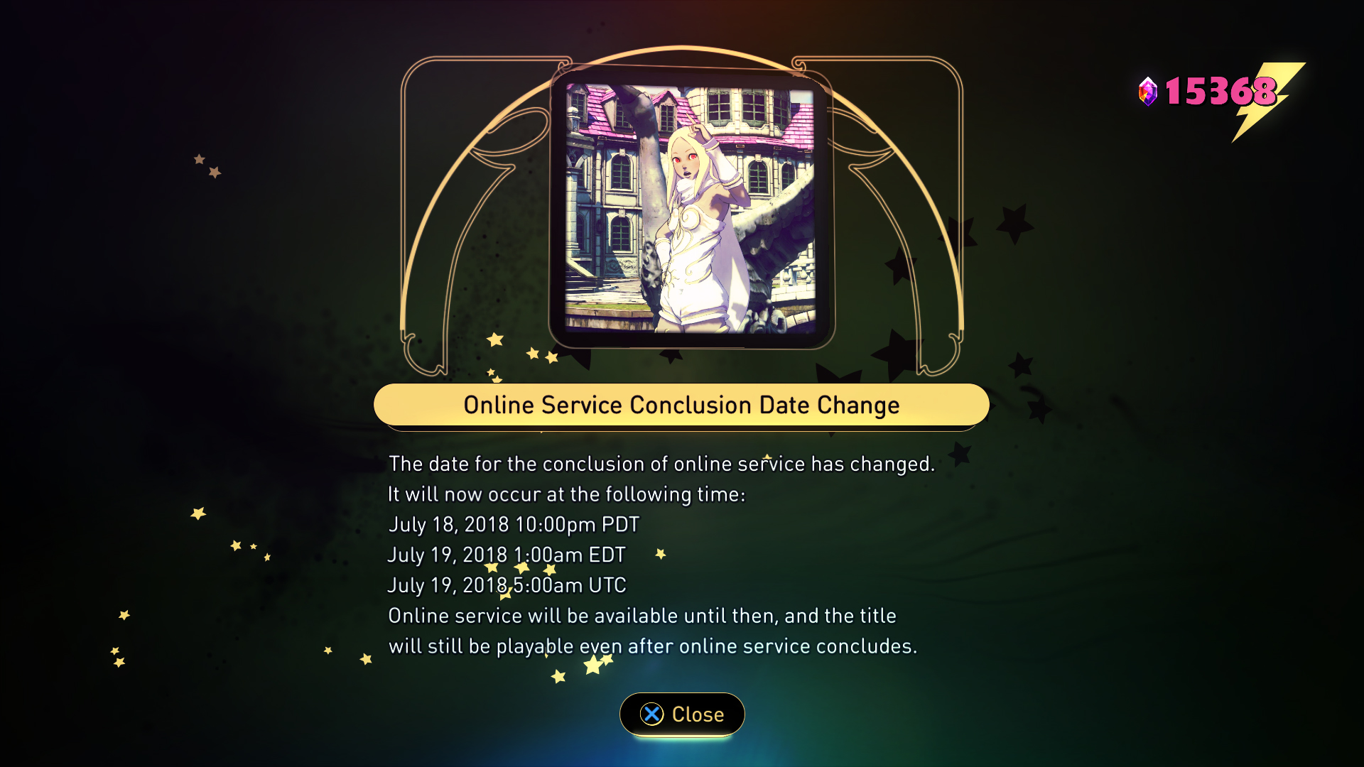 gravity rush 2 server extension