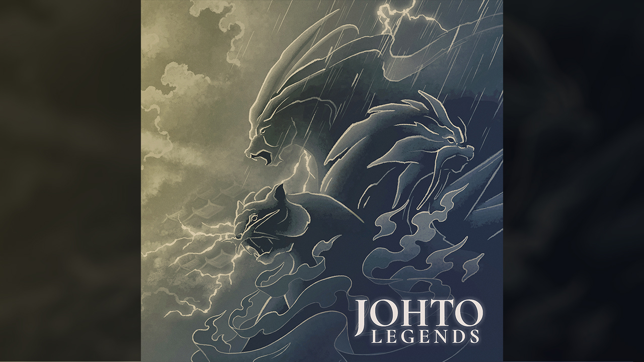 johto legends album cover