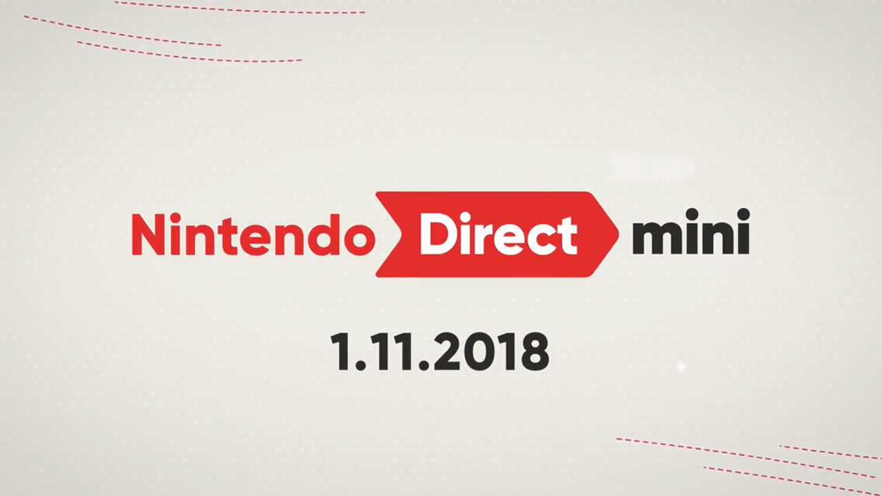 nintendo direct mini jan 2018