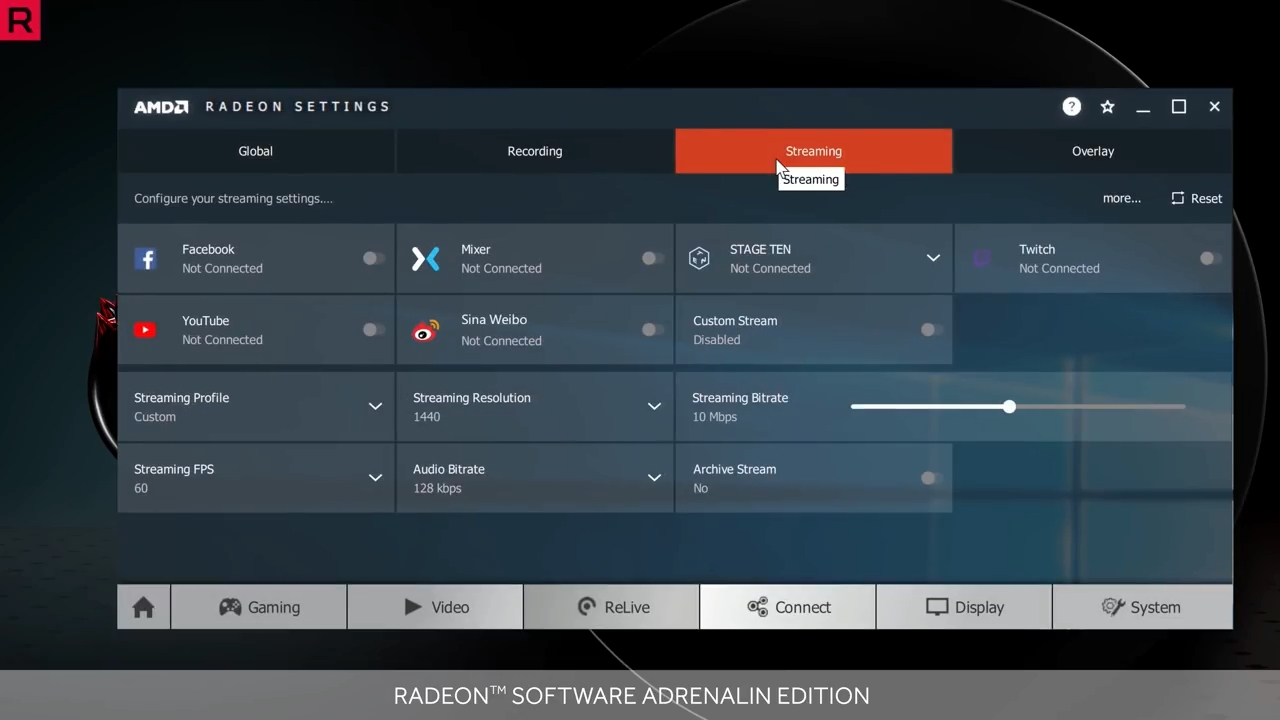 AMD's updated Radeon ReLive adds integrated chat, separate audio