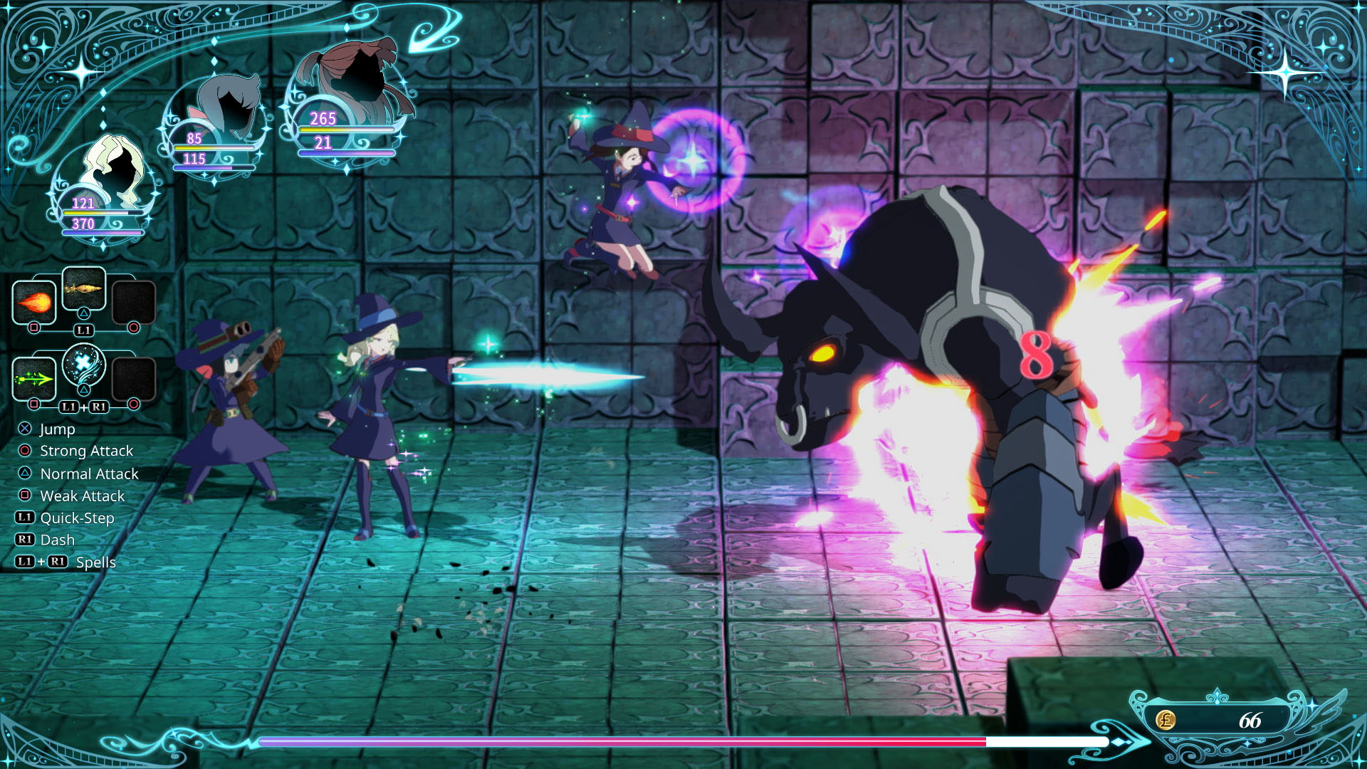 Little Witch Academia Chamber Of Time Bursts Onto Pc And Ps4 On