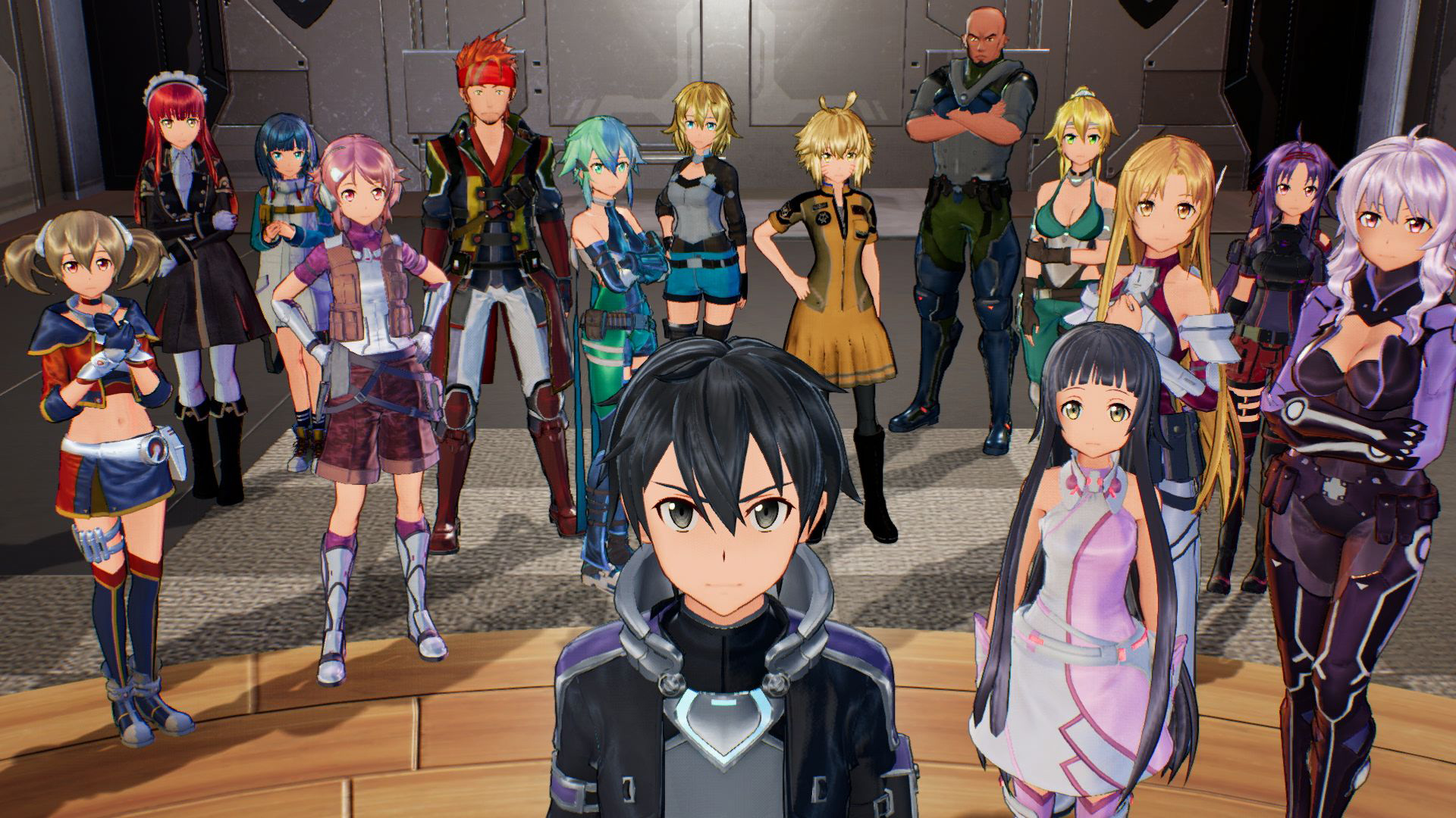 sword art online: fatal bullet - review 01
