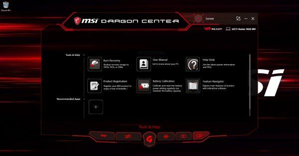 MSI Dragon Center 2 - 05