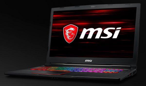 MSI Notebook GE73 Raider RGB 01