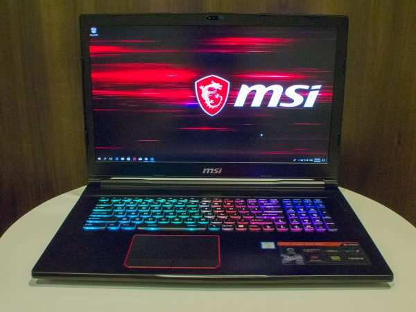 Quick Peek: MSI GE73 Raider RGB gaming notebook - GameAxis
