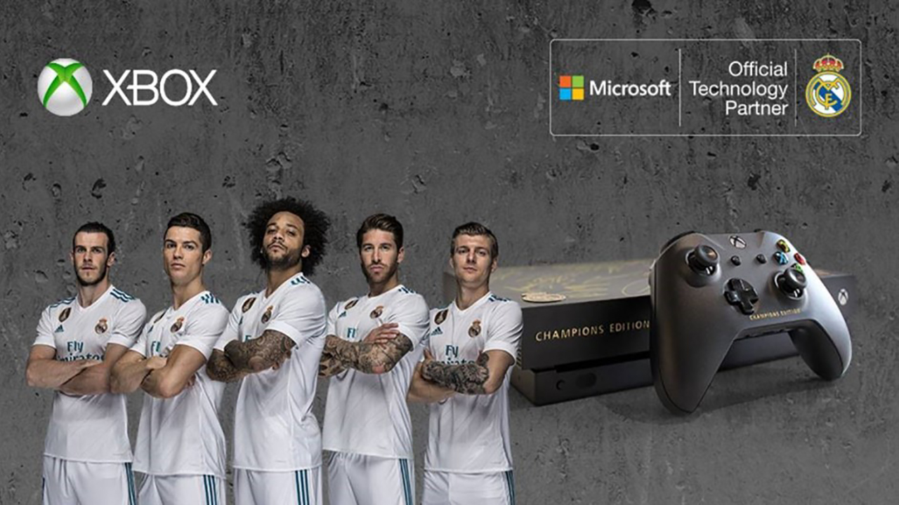 Real Madrid Xbox One X