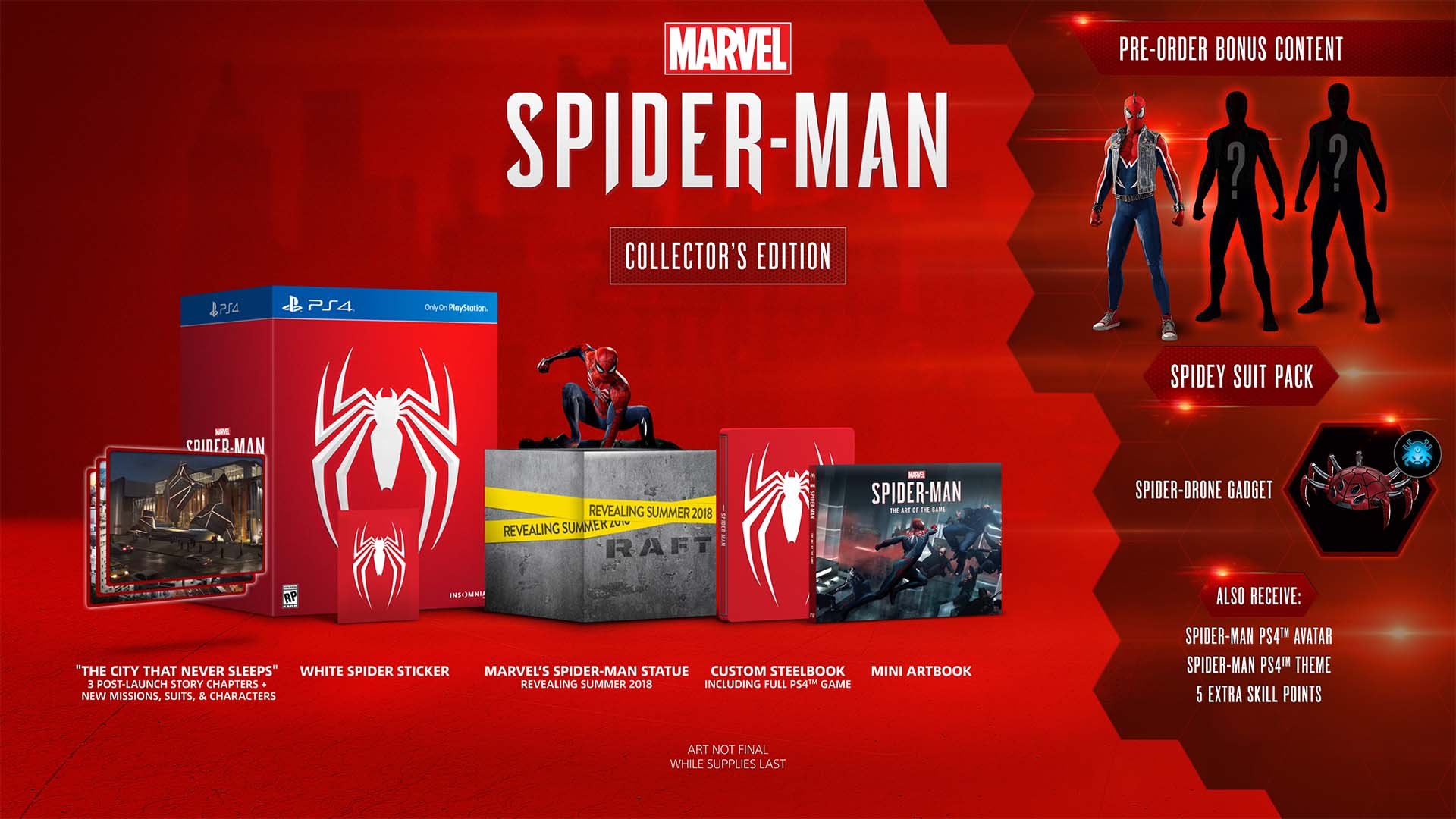 Marvel's Spider-Man Collector's Edition SG