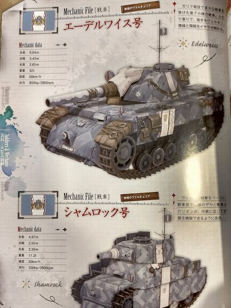 Valkyria Chronicles 4 - 10th Memorial Package - Artbook 03