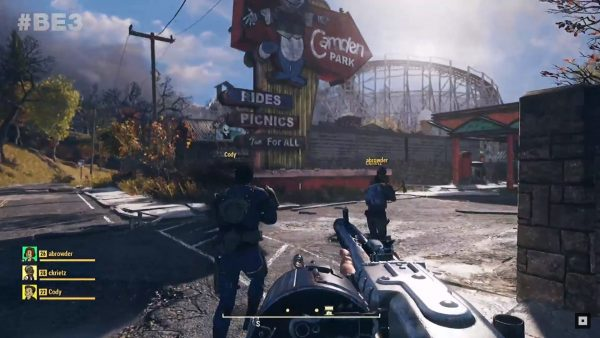 E3 2018: Fallout 76 is a multiplayer survival game, starts