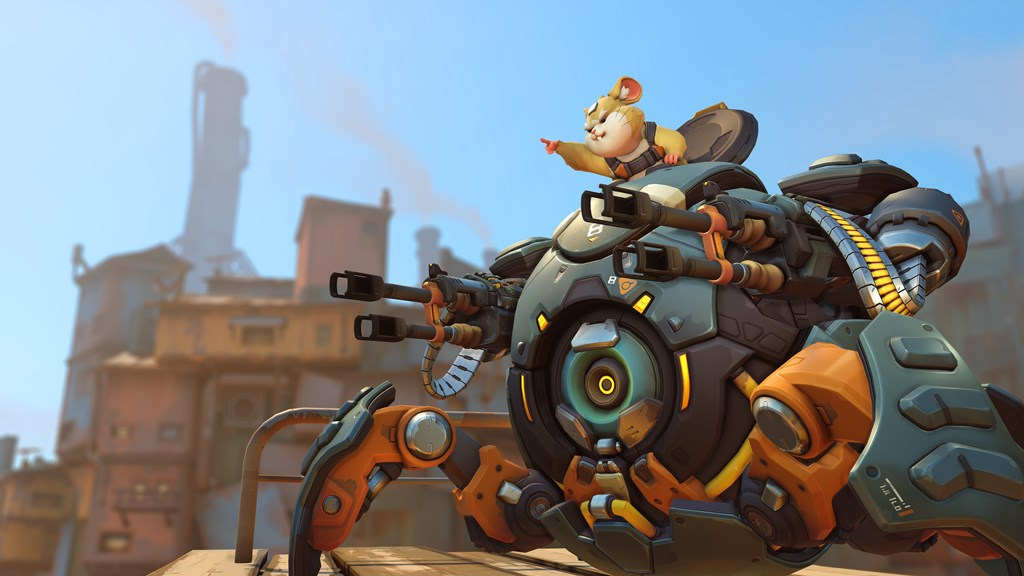 Overwatch Wrecking Ball 26/07/18 01