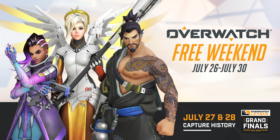 Overwatch Free Weekend 20/07/18 01