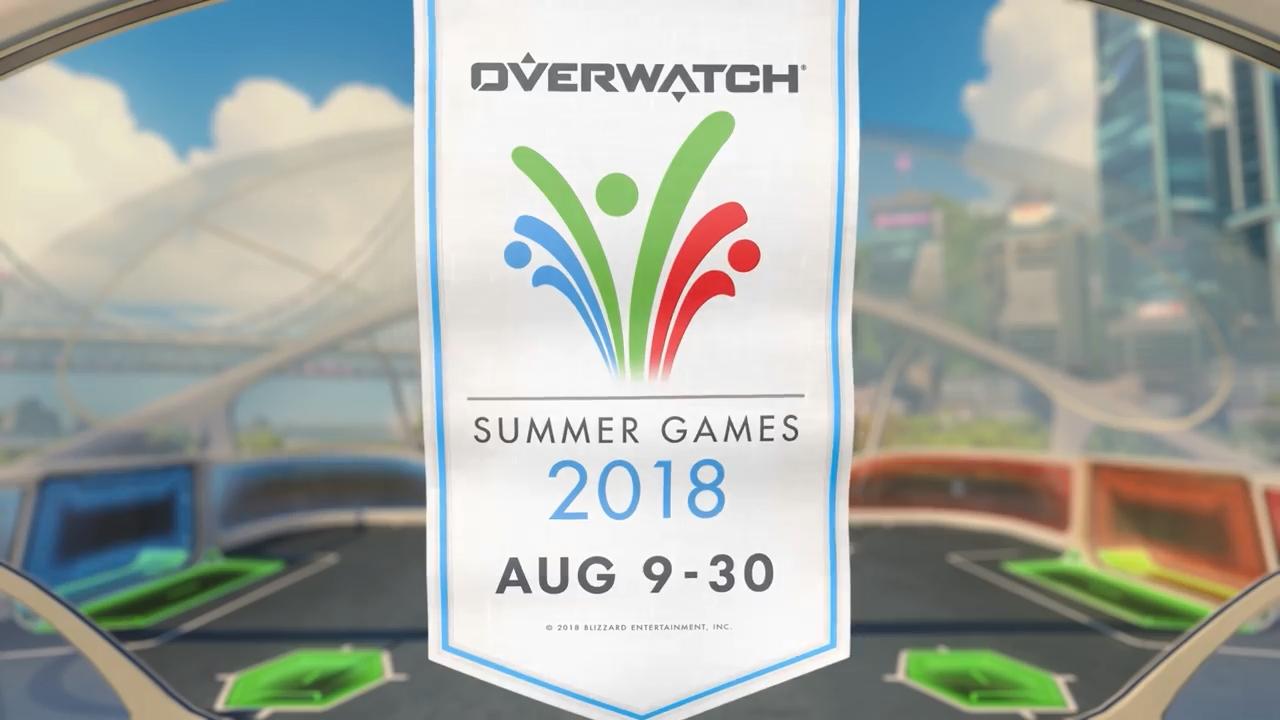 Overwatch Summer Games 2018