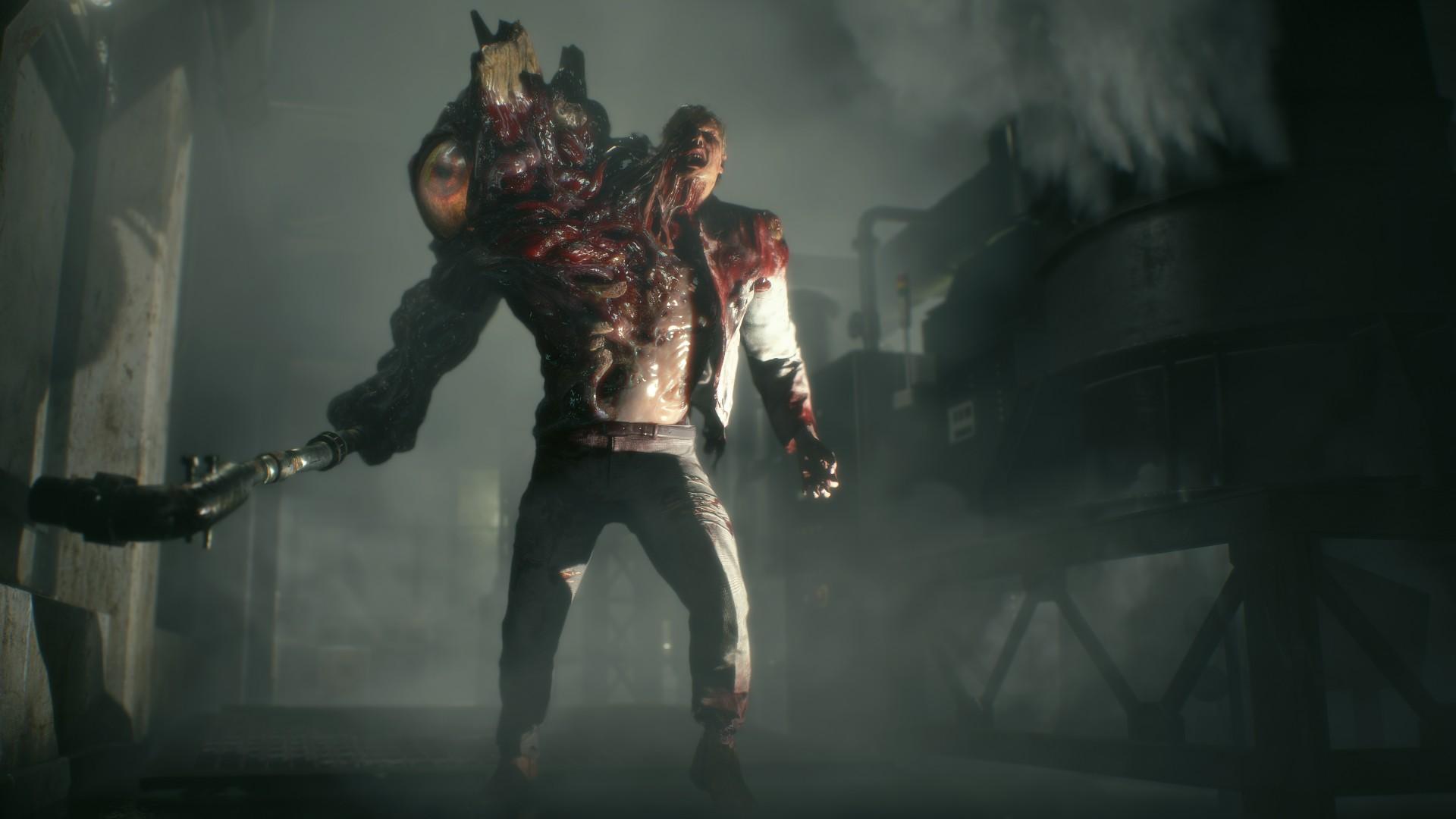 TGS 2018 Resident Evil 2 - 01