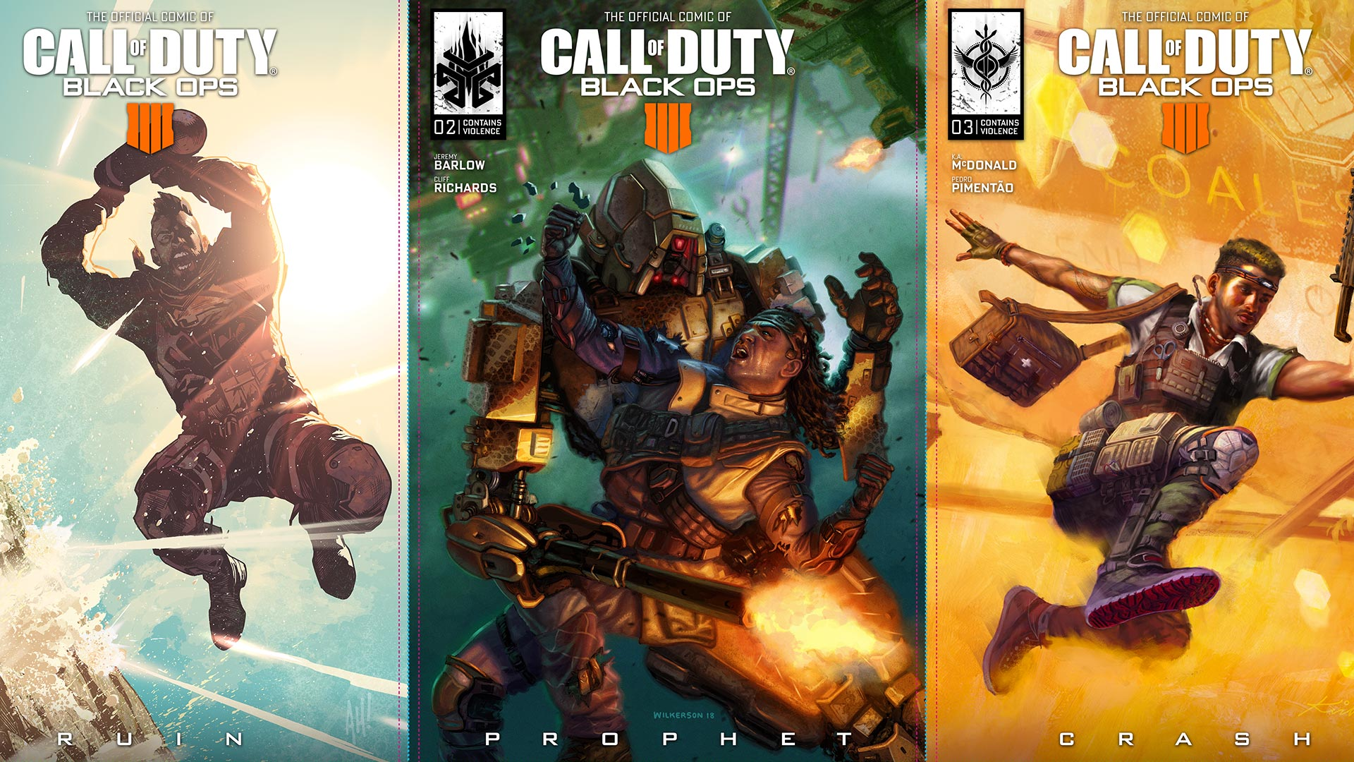 Call of Duty: Black Ops 4 - Comics