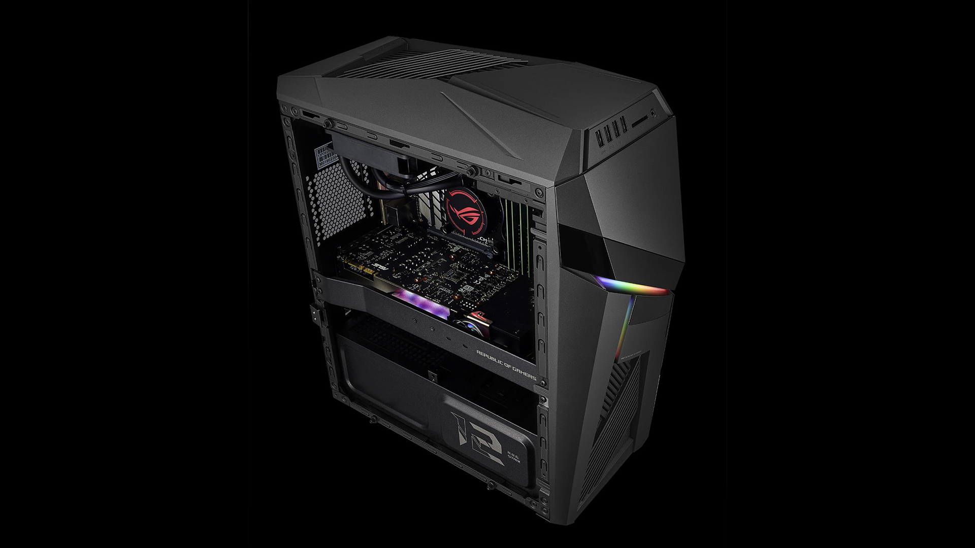 ASUS announces water-cooled ROG STRIX GL12CX, equipped with Intel's
